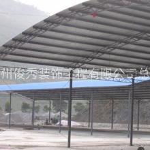 赣州铁皮雨棚 铁皮式雨棚