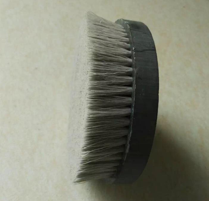 厂家直销 各种圆形毛刷 尼龙圆盘清洗毛刷 工业抛光打磨盘刷
