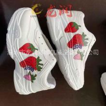 厂家直销鞋面印花机鞋子侧边logo喷绘机皮革鞋面图案彩印批发