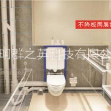 不降板同层排水系统(WAB),铸铁和PVC管,排水汇集器,L型侧排地漏,专门解决卫生间排水各种问题批发