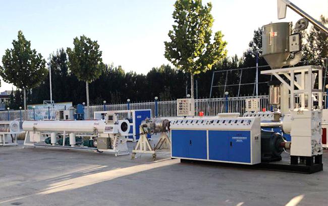 PPR管材高速挤出生产线_供应塑料管材生产线