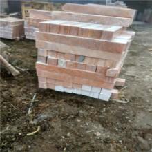 天然霞红石材 栏杆石材  可提供规格定制图片