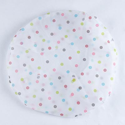 圆形全包式半透明印花电风扇套防尘罩风扇防尘套家用电扇保护套