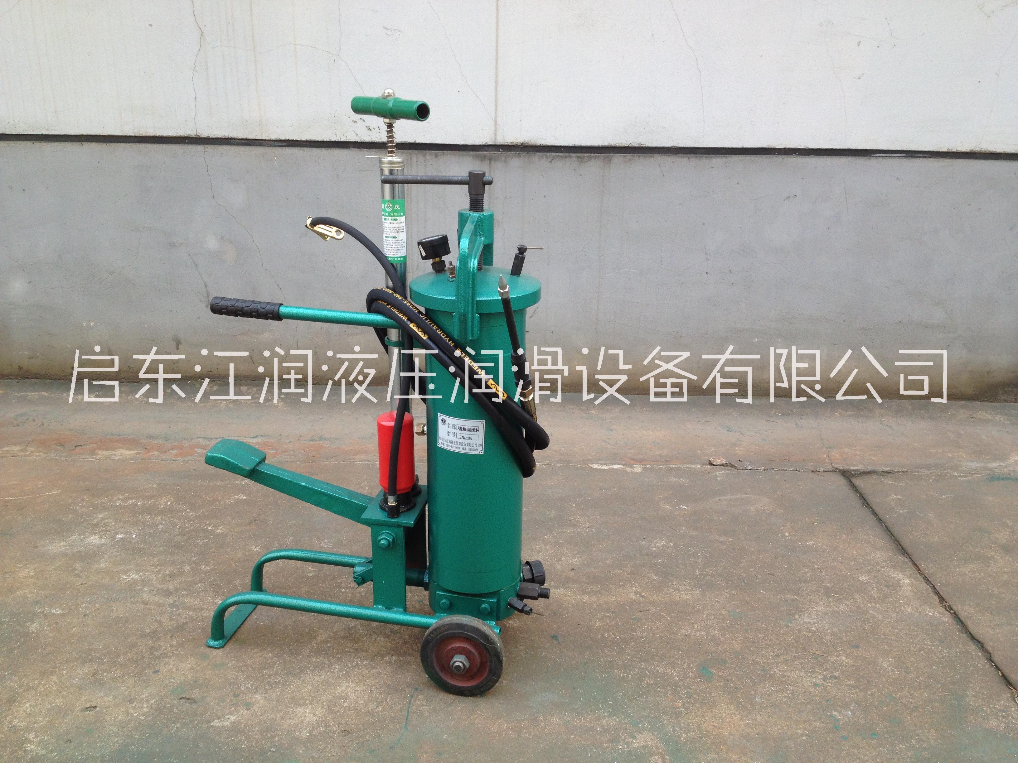 JRB2-X3脚踏润滑泵水泥厂用_启东江润液压润滑设备有限公司