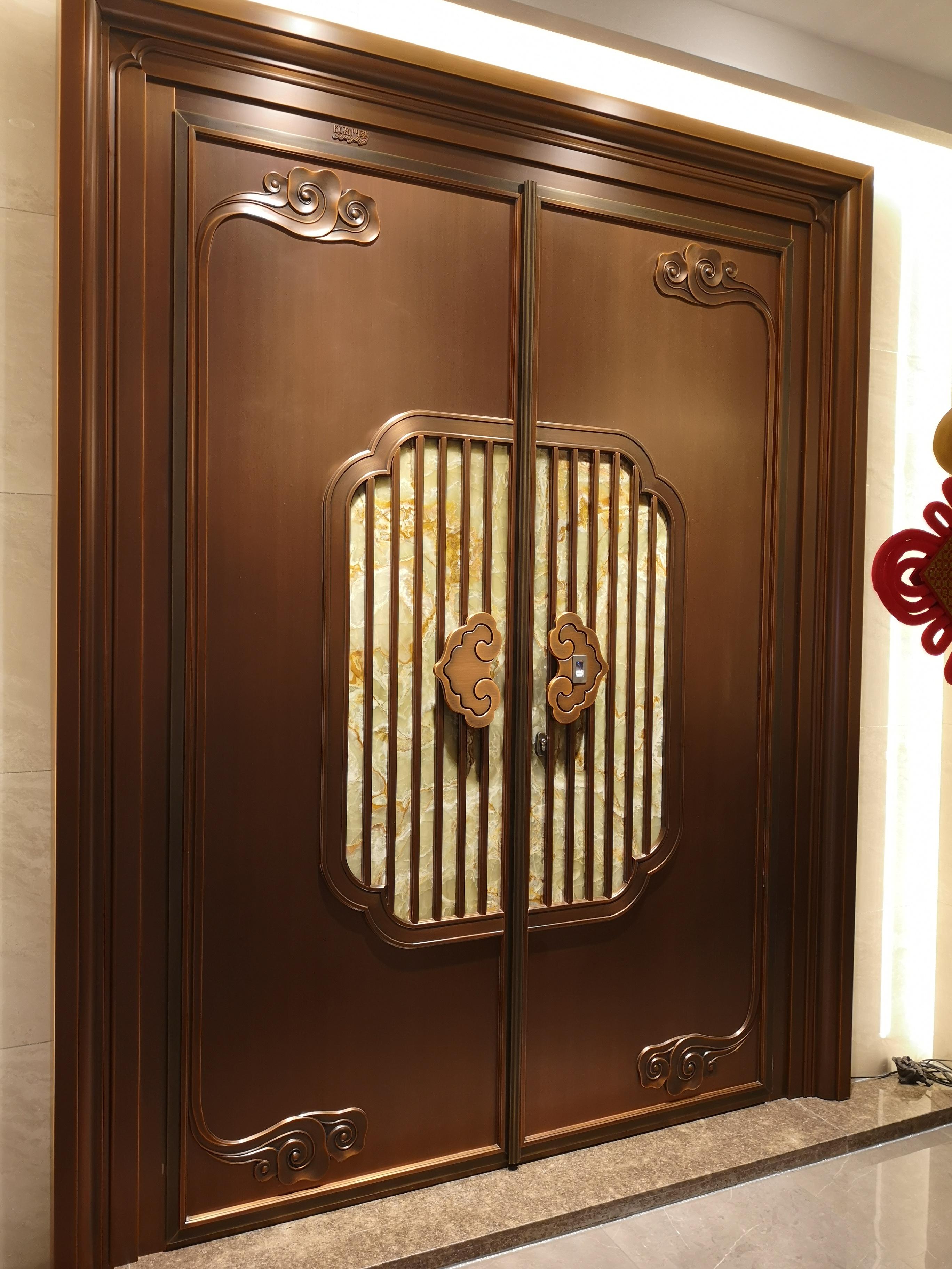 广州聚福龙铜加玉铜门/老品牌质量有保障