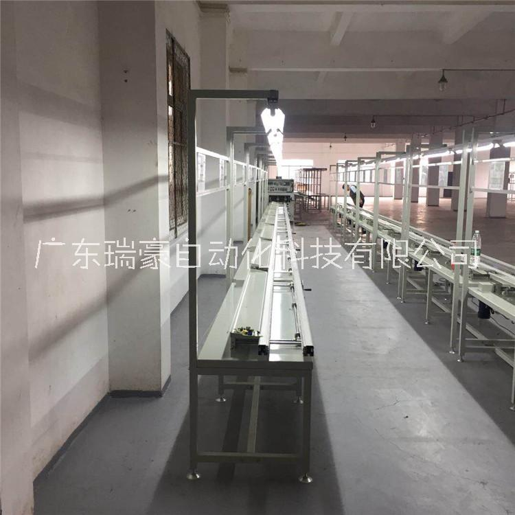 厂房供应 加工定制插件线 双边插件流水线 静电皮生产线 非标定制