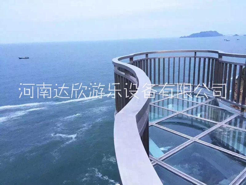 河南玻璃观光平台工程,玻璃观光平台设计,玻璃观光平台价格 河南北京栈桥工程价格