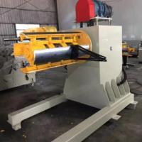 重型材料架青岛拓一MT系列 自动开卷机 放料架 载重量大 性能稳定 用于五金冲床冲压 剪板放料