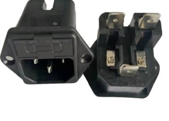 锁式双保险丝插座图片