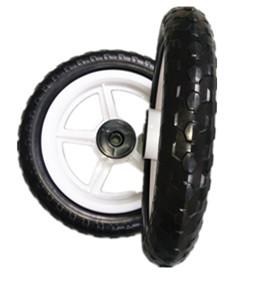 萱德直销12寸EVA儿童自行车轮 三轮车轮 婴儿推车轮胎EVA发泡轮