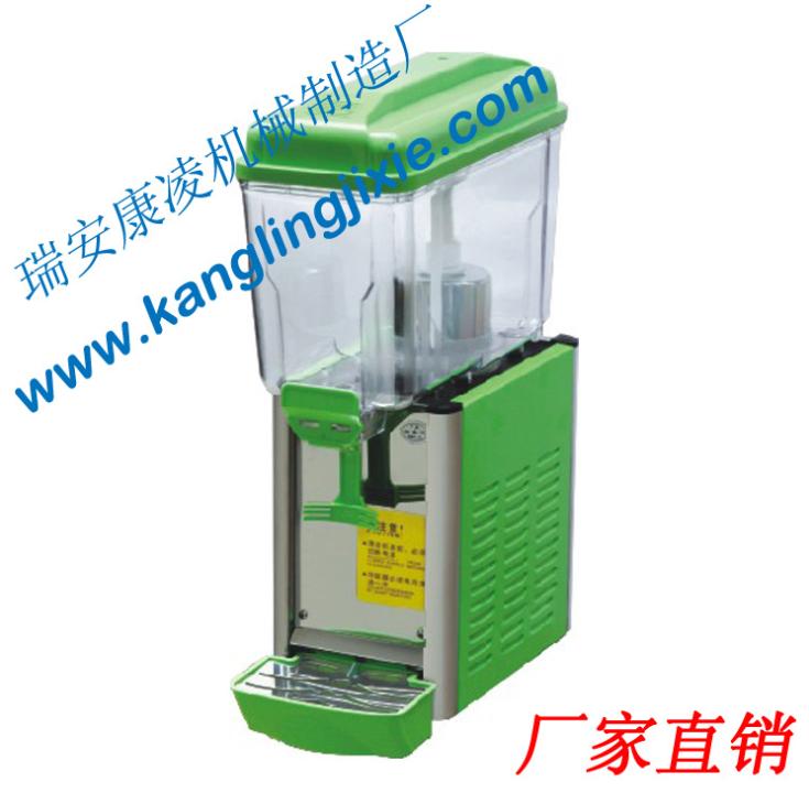 定制 饮料生产设备 制冷饮料机 12升搅拌单缸饮料机产品机械加工