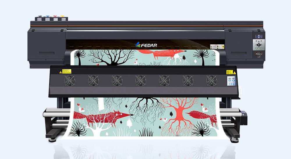 四喷头高速数码印花机