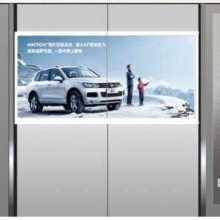 广州电梯门广告投放公司联系方式及电梯门封面广告价格表图片