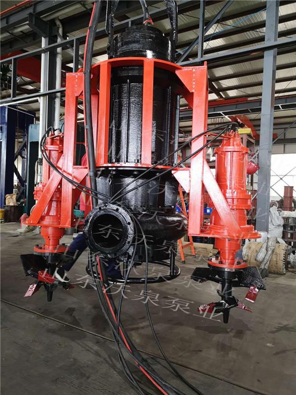 潜水式矿浆泵 电动泥沙泵机组 耐磨合金砂浆泵厂家