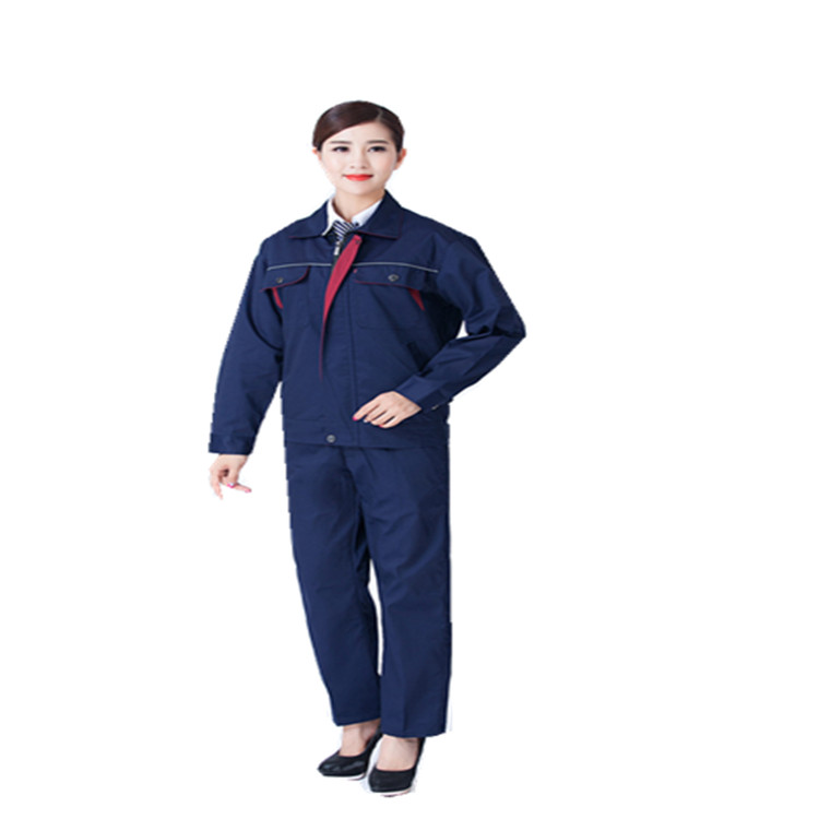 长袖工作服套装 劳保服工程服工装  济宁劳保服