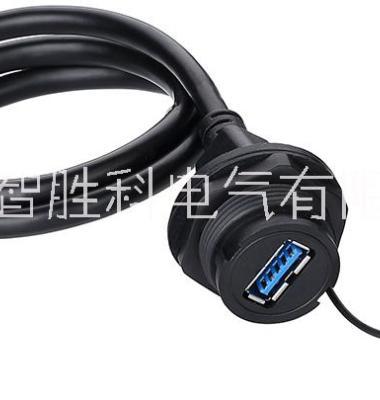 USB2.0防水连接器图片/USB2.0防水连接器样板图 (2)