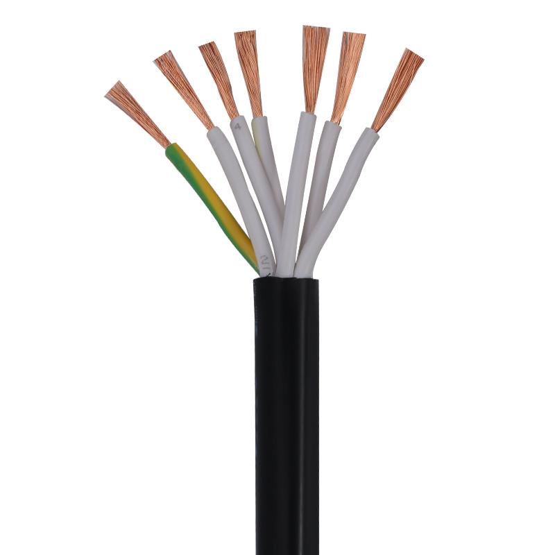 铜芯电缆线护套线多芯信号线控制线电源线 现货RVV30芯电线电缆0.5/0.75/1.0/1.5平方