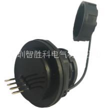 USB2.0防水连接器 USB2.0防水母座 双层A母焊线式