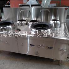 上海厂家供应工厂 食堂用不锈钢燃气五星炒灶图片