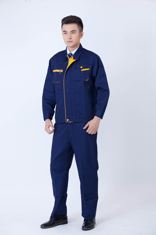 工作服定制 工装服  秋冬季长袖工作服劳保服厂服
