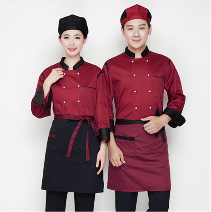 工作服定制 厨师服 劳保服工装制服