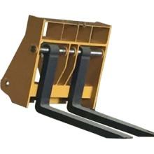 定制加长型锻打货叉 货叉套 装载机配件属具 货叉套