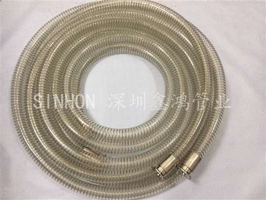 透明pu钢丝增强型食品软管-SINHON