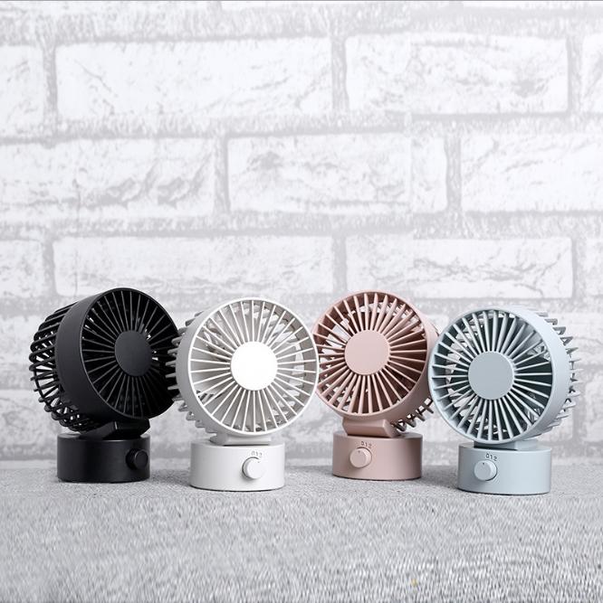 2019新品双叶桌面风扇@迷你便捷式usb风扇、办公室静音风扇厂家