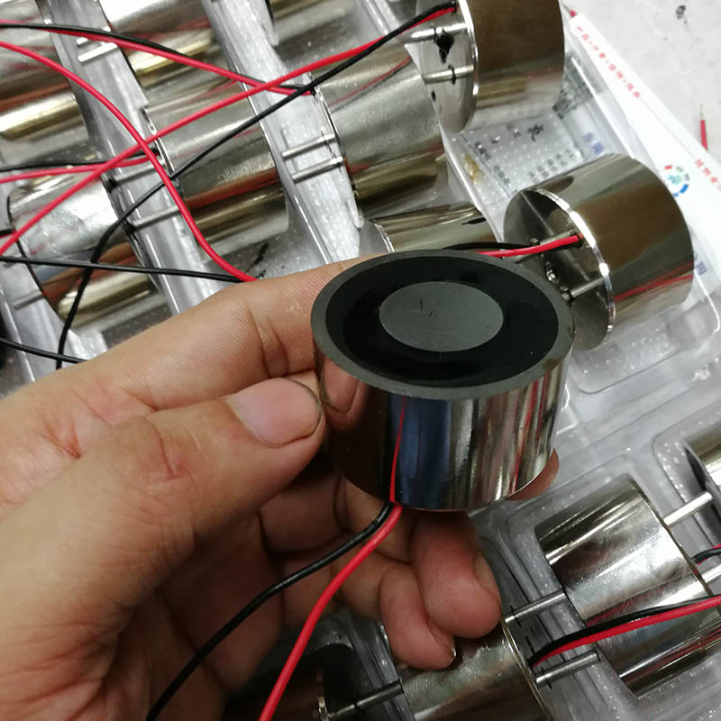 保持吸盘电磁铁DKX4224直流强磁自保持吸盘电磁铁通电消磁断电有磁大吸力低功耗