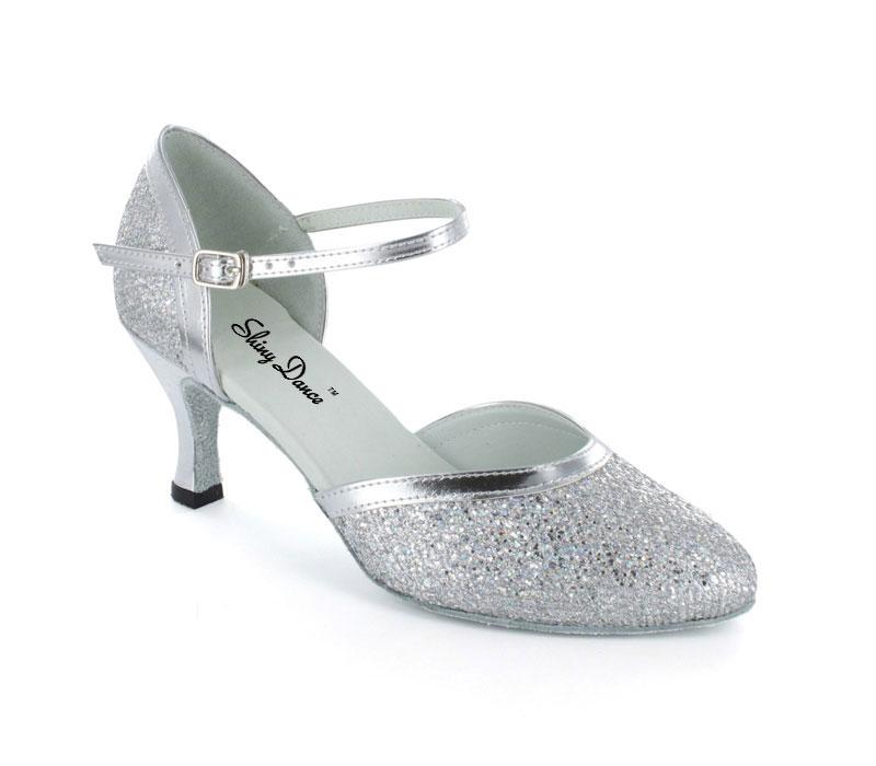 亮银闪摩登舞鞋销售