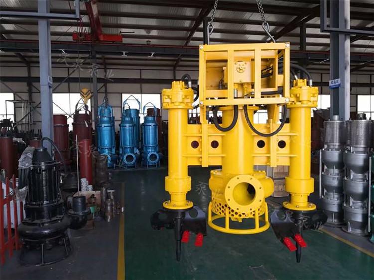 挖机泥砂泵 挖掘机液压泥浆泵 潜水抽泥泵厂家
