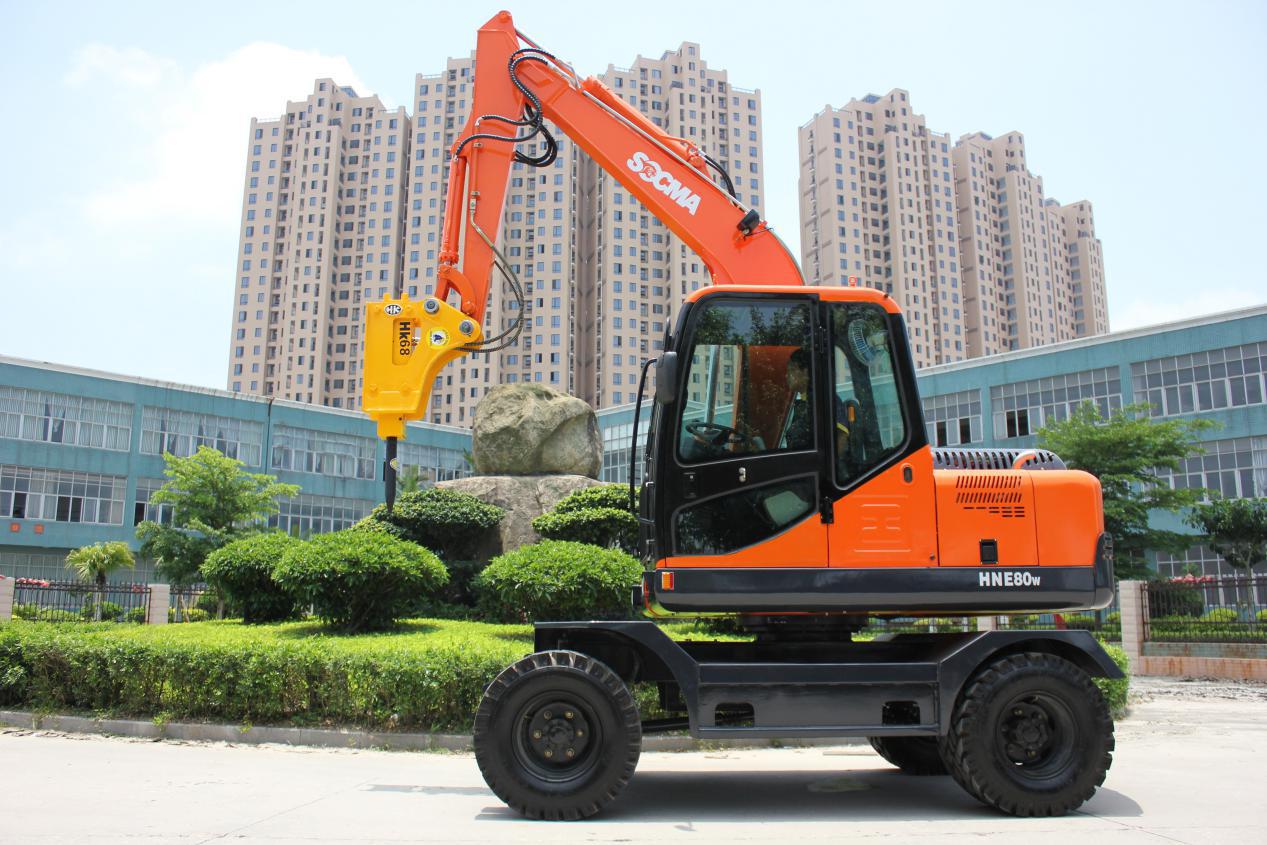 8吨挖掘机 挖掘机价格表 广西挖掘机厂家 挖掘机厂家直销 8吨轮式挖掘机