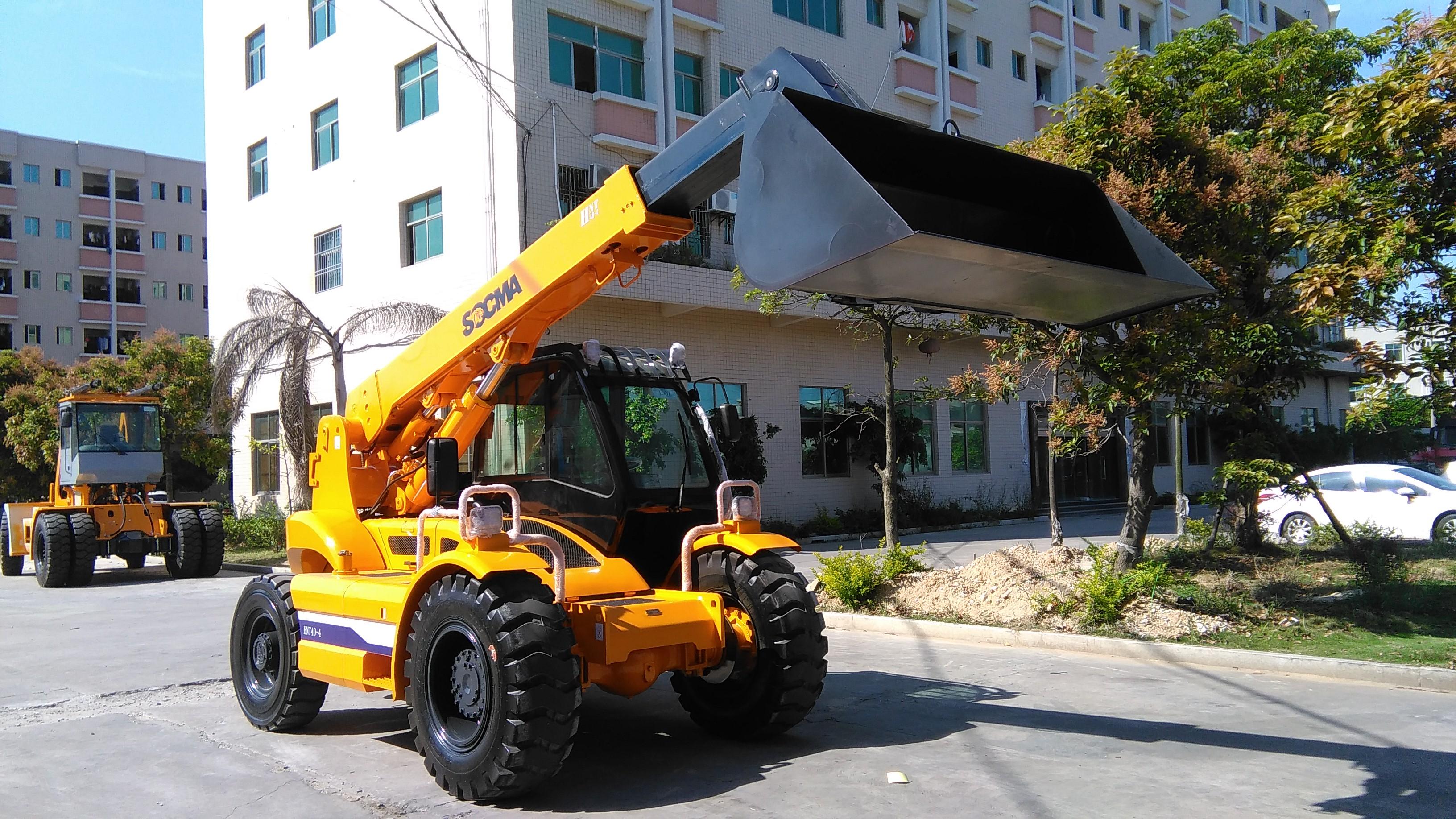 4吨伸缩臂叉车 华南重工4吨伸缩臂叉车
