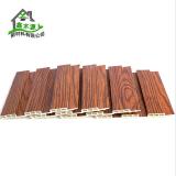 厂家直销生态木195包覆大长城板5 室内墙面吊顶装饰PVC木塑长城板 装饰长城板
