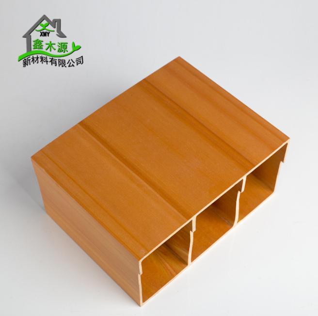 厂家直销生态木方通 室内装修新型装饰材料PVC木塑100*200方木