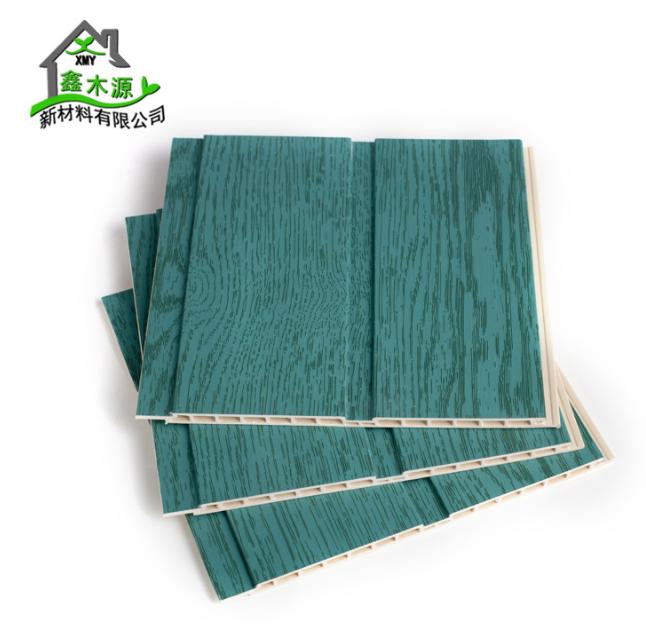 厂家直销竹木纤维集成墙板 整屋快装环保装饰板200平槽护墙板