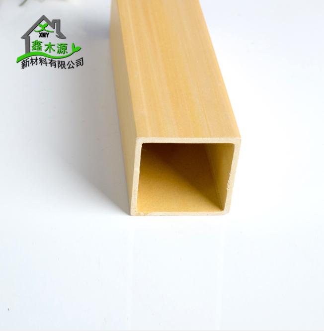 厂家直销生态木方通 室内装修新型装饰材料PVC木塑50*50方木