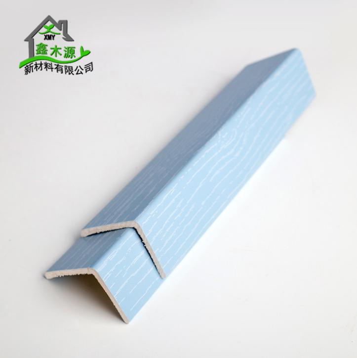 厂家直销生态木PVC阳角线 新型装饰材料室内装饰线条30*40阳角线