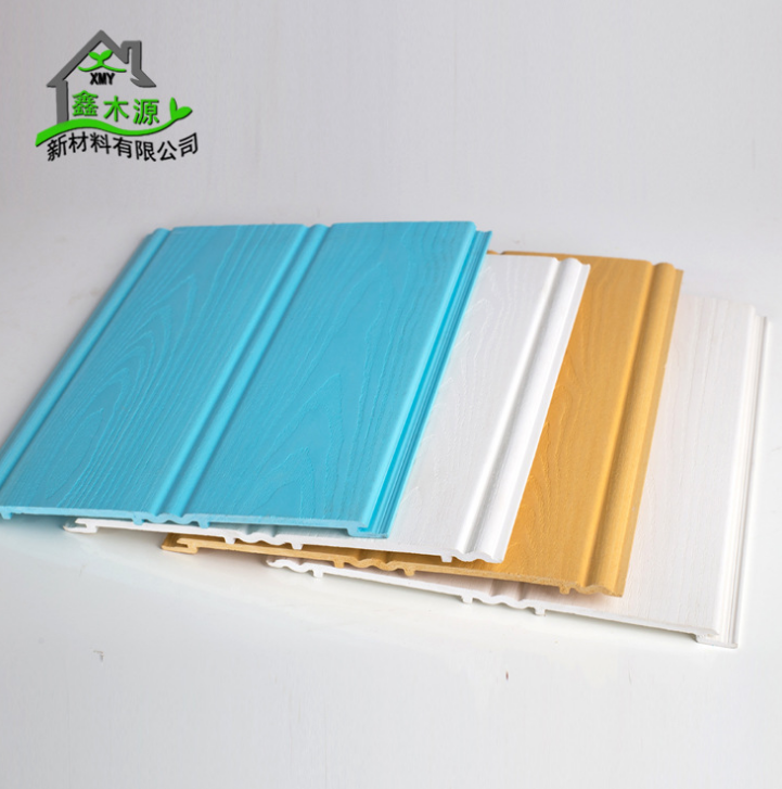 厂家直销生态木双100浮雕板 室内塑木装饰墙裙板PVC木塑浮雕