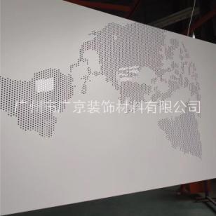 图案冲孔铝单板图片