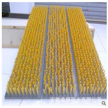 现货批发PVC毛刷板 工业平面尼龙丝毛刷定制厂家 毛刷定制