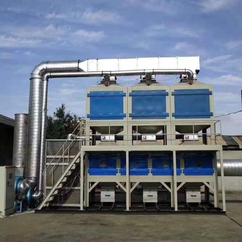 支持定制rco催化燃烧设备 活性炭吸附脱附 催化燃烧废气处理设备