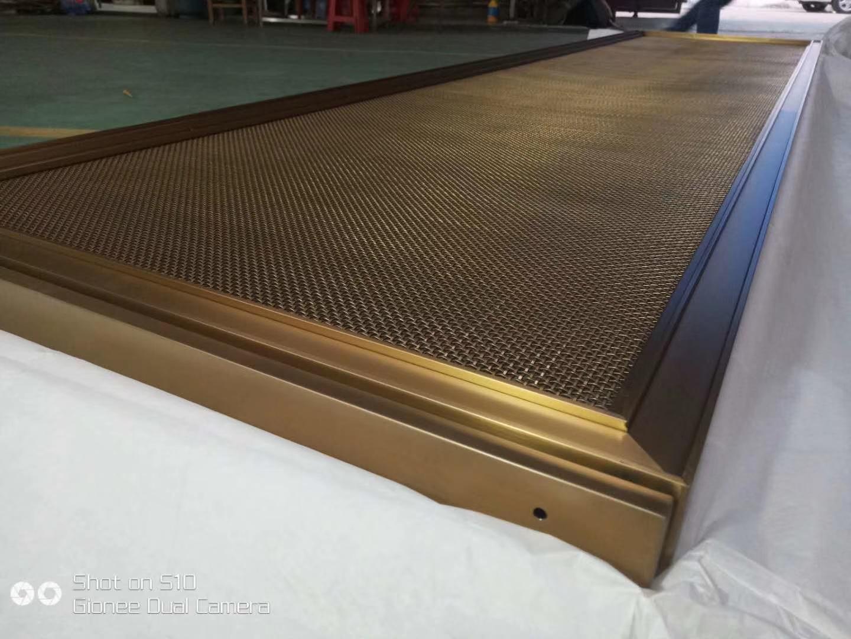 佛山专业生产加工不锈钢金属屏风