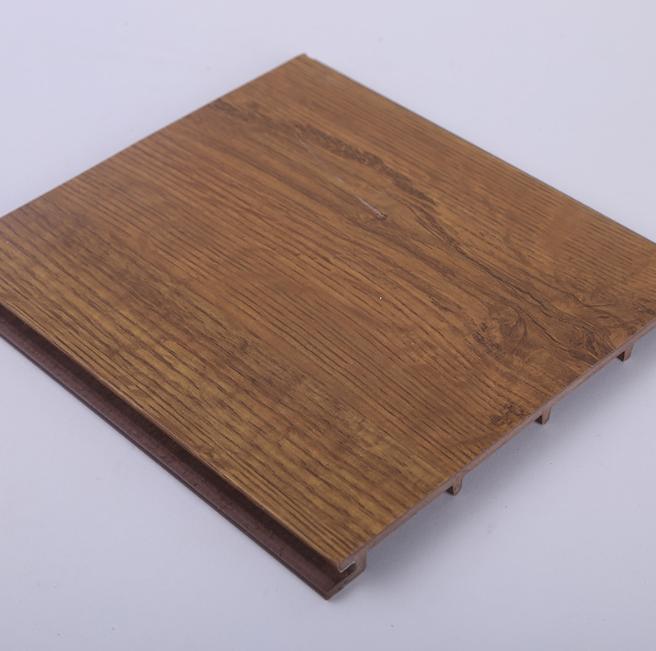 厂家直销 生态木墙板包覆防水防潮装饰板背景墙快装150墙板