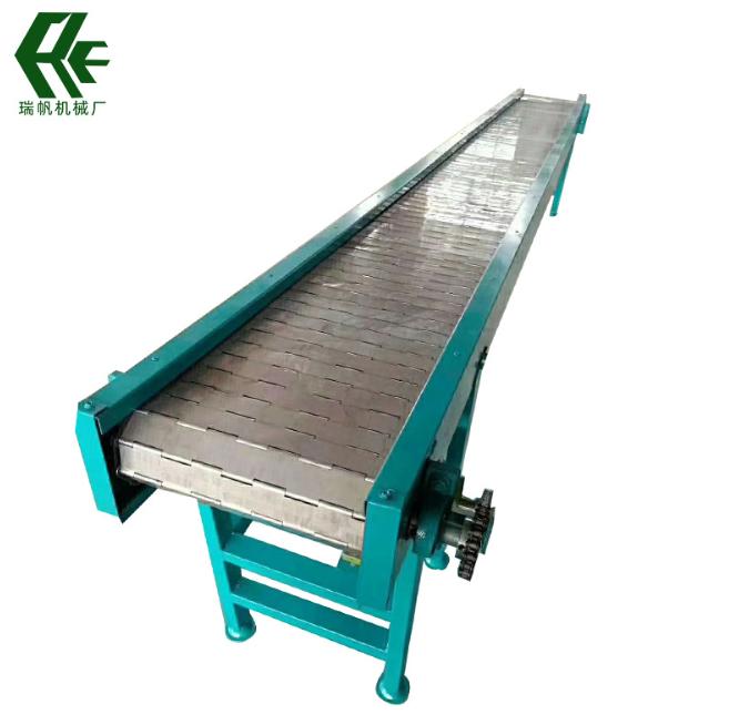 输送设备链板输送机食品流水线传送带运输机不锈钢链板式输送机