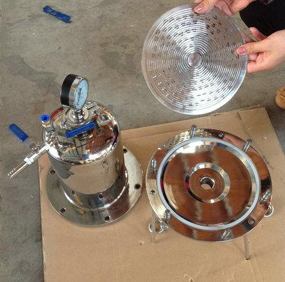 厂家直销 不锈钢正压过滤器 负压小流量滤膜过滤器 304 316