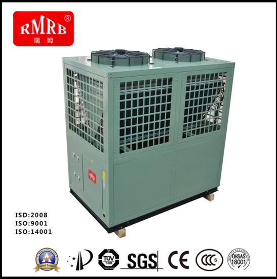 25匹空气能热泵 空气能热水采暖制冷厂家