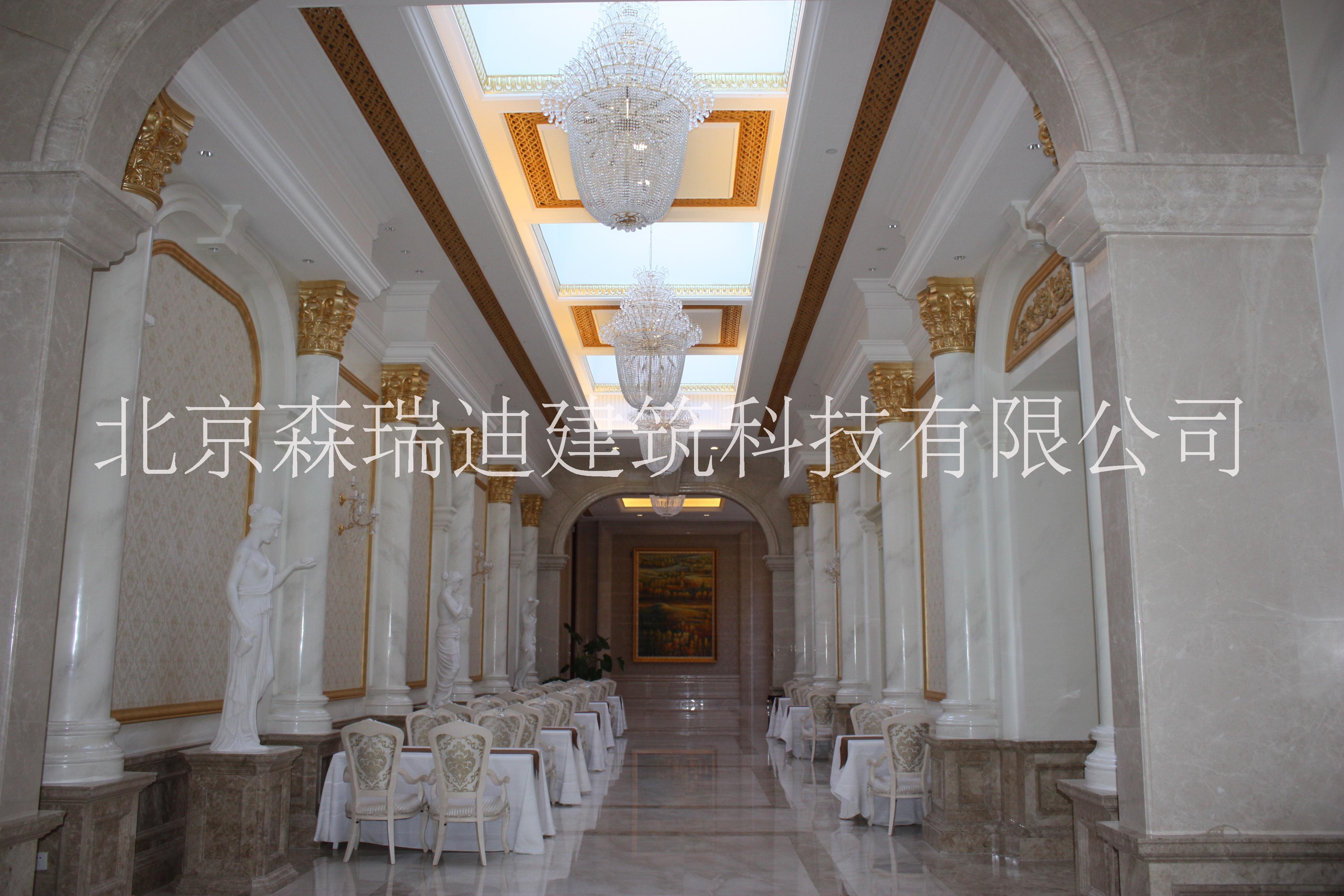 北京森瑞迪深化制安GRG柱子造型