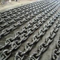 日照市无档普通链环批发 船用无档锚链价格 大量批发锚链