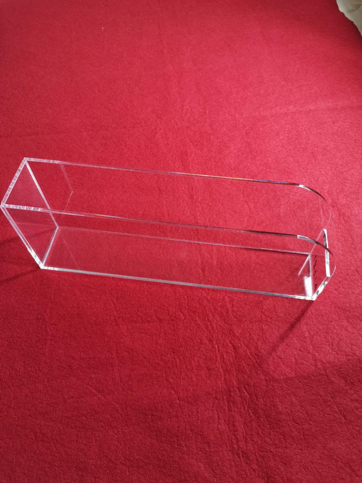 宁波市海曙安君有机玻璃亚克力激光雕刻粘接修边抛光定制加工收纳盒